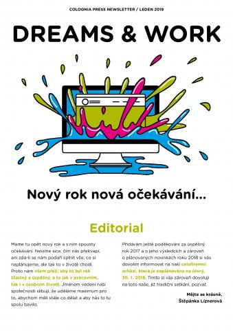 Lednový newsletter Dreams & Work je tu
