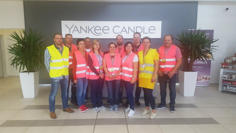 Exkurze do Yankee Candle